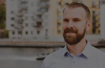 Andreas Löfstedt, VD på Prefabsystem Montage