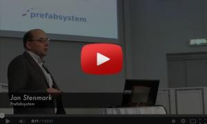 Prefabsystems seminarium om prefabstommar