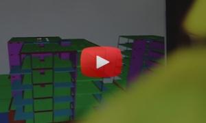 Digitala ritningar på bygget