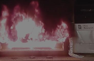 Brandfilmen unikt brandtest av sandwichvägg i betong